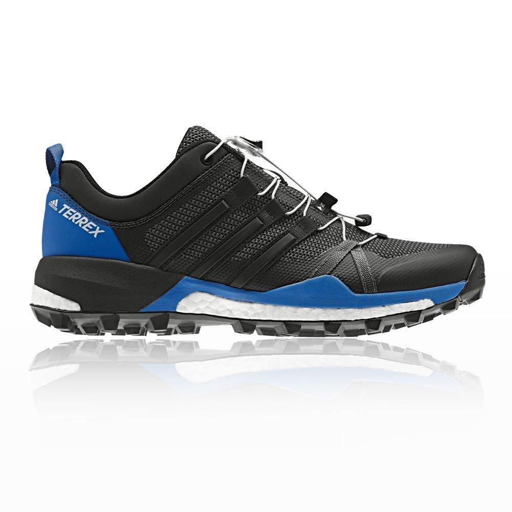 Adidas Terrex Skychaser, Zapatillas de Senderismo para Hombre 50 2/3 EU|Negro (Negbas/Negbas/Carbon 000)