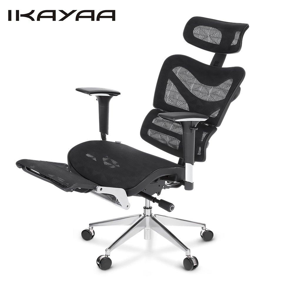 Amazon.com: iKayaa Swivel Computer Desk Chair, Adjustable ...