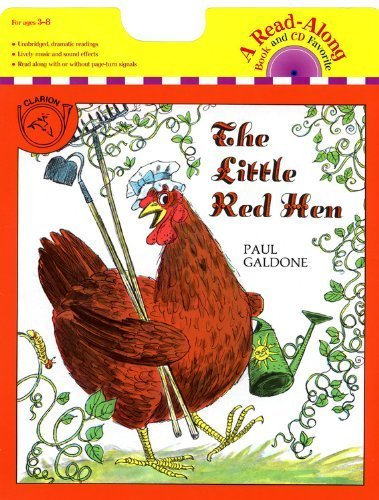 little red hen galdone - 4