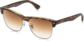 TALLA 57. Ray-Ban Clubmaster Oversized Gafas de sol para Hombre
