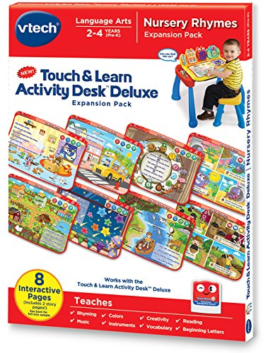 VTech Touch and Learn Activity Desk Deluxe Expansion Pack - Nursery Rhymes (Rhymes Pack)