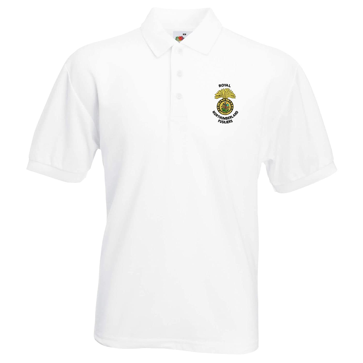 Royal Northumberland Fusiliers bestickt Polo