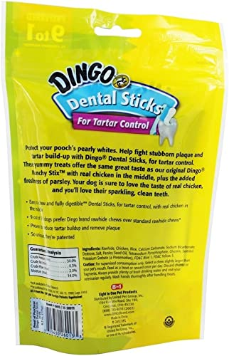 United Pet P-26013 Dingo 20PK Dental Stix