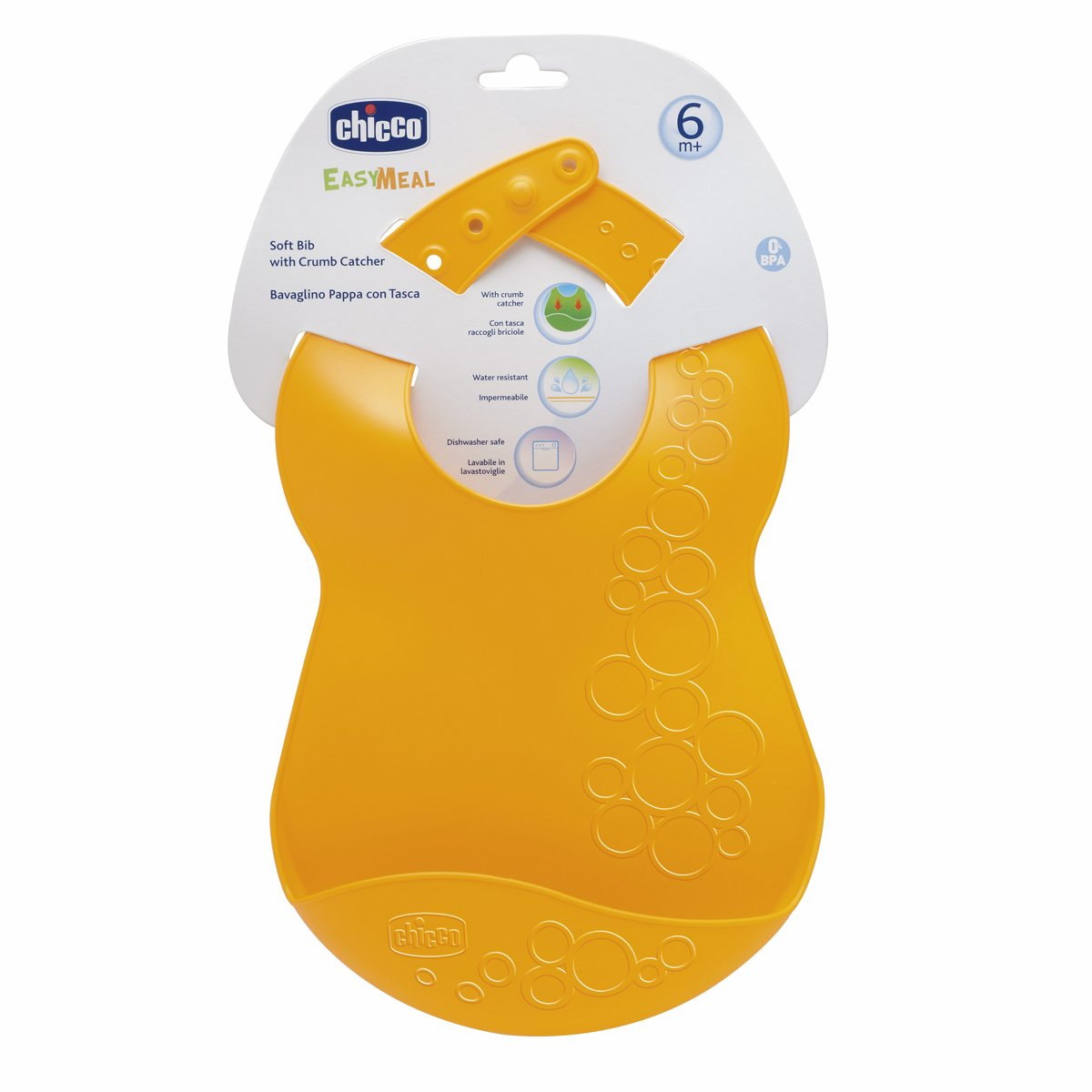 Buy Chicco Soft Bib with Crumble Catcher (Yellow) Online at Low Prices in  India - Amazon.in 99923ccdab744
