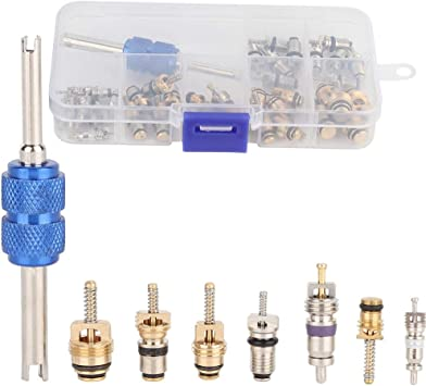 39 Sets Car R12/&R134A A//C Air Conditioner Valve Core Remover Tool Kits