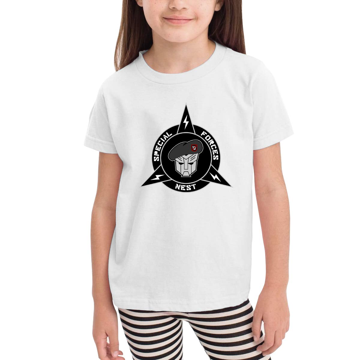 Onlybabycare Logo Special Forces 100/% Cotton Toddler Baby Boys Girls Kids Short Sleeve T Shirt Top Tee Clothes 2-6 T