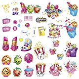 new avengers 39 - 39 New SHOPKINS WALL DECALS Kids Toys Stickers Peel and Stick Removable Decor