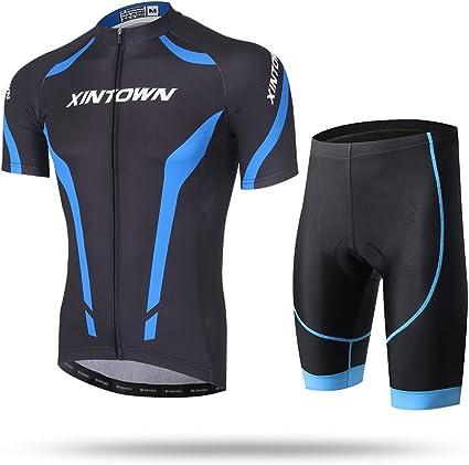 Men/'s Short Sleeve Cycling Shirts Bicycle Jersey Reflective MTB Bike Sportswears