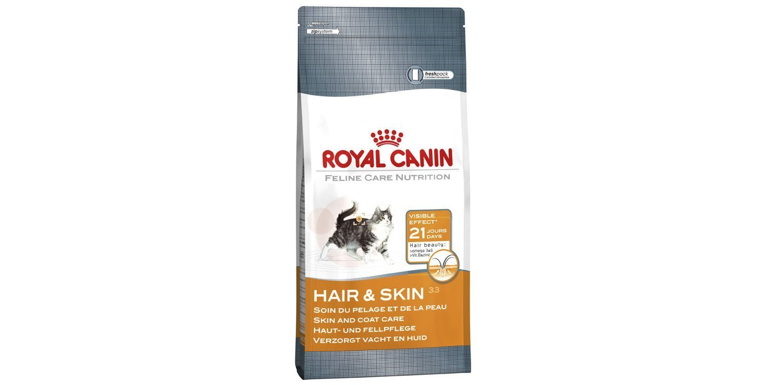 Royal Canin Cat Food Hair & Skin Care 33 Dry Mix 10kg