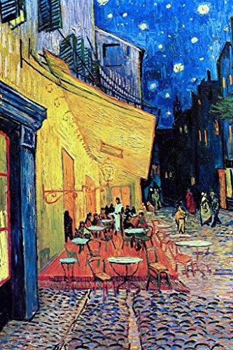 Vincent van Gogh Cafe Terrace At Night Art Print Poster - Arles Print Poster