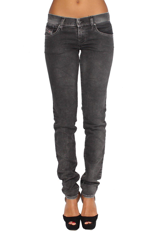 DIESEL - Women's Jeans GETLEGG 601C - Slim - Skinny - Stretch - black, W29 / L32