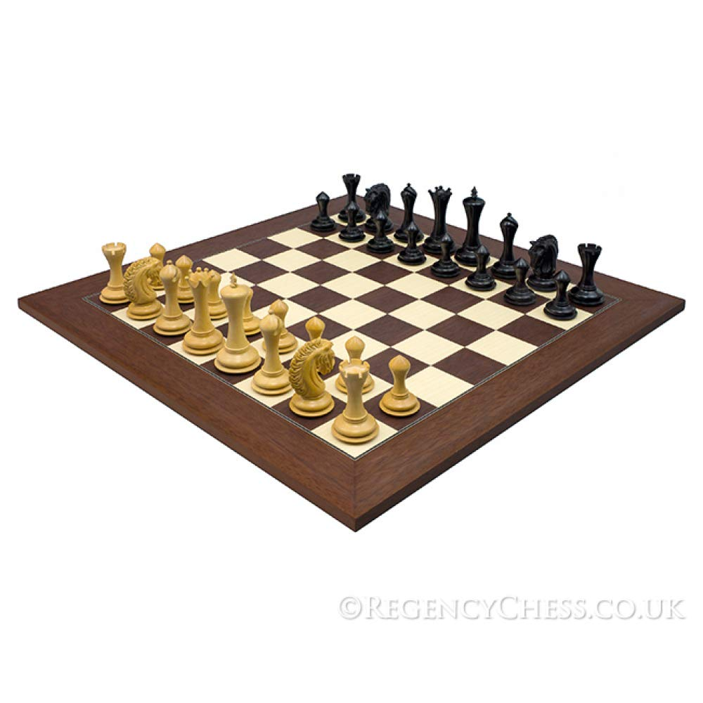 【在庫あり】 The Set Large Empire Knight Ebony Ebony Palisander Knight Luxury Chess Set B01EI8TENS, 沖縄厳選グルメ専門店 山将:0588beb1 --- mcrisartesanato.com.br