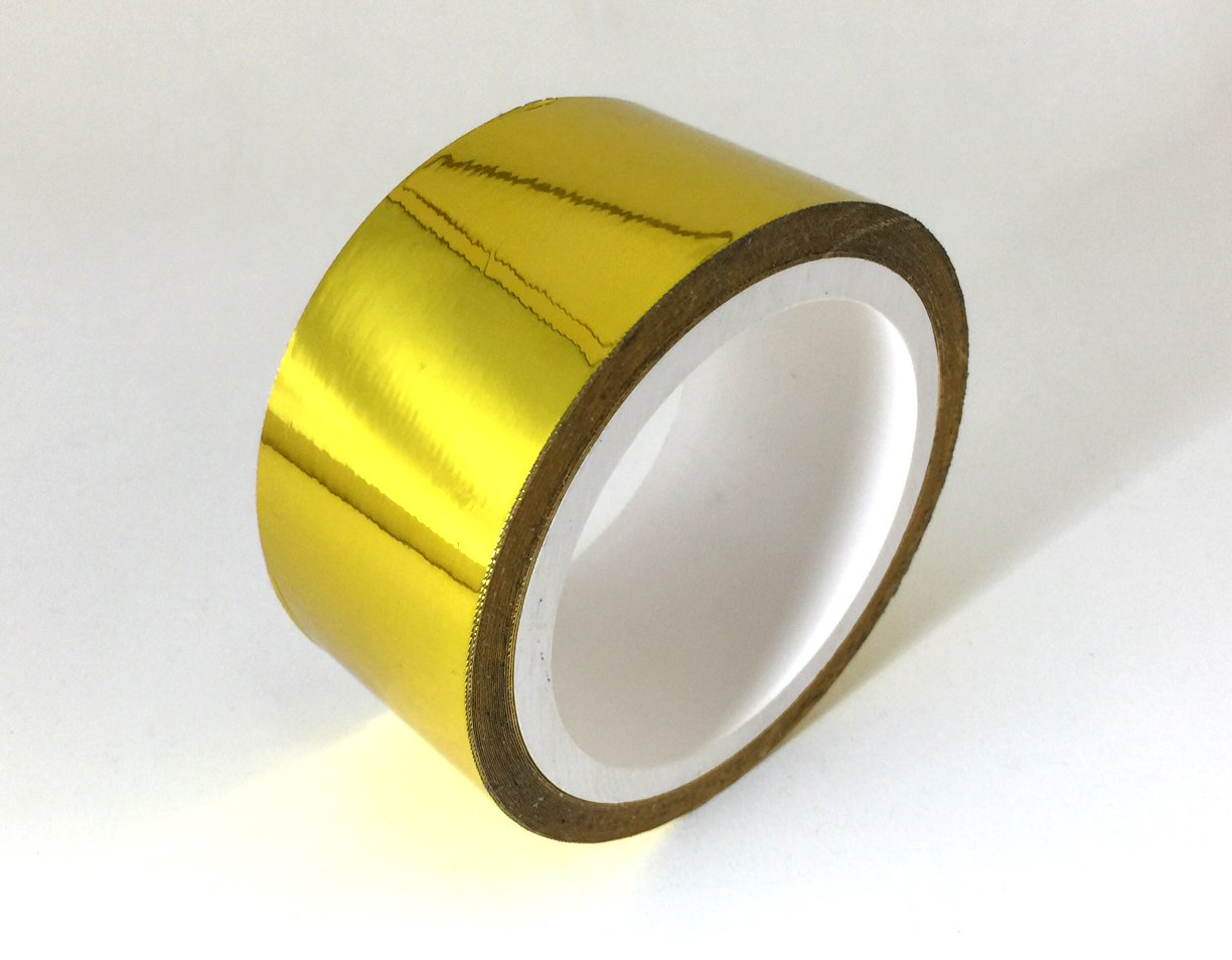 Reflective Gold High Temperature Heat Reflective Self Adhesive Tape 15 Feet x 2 Inches wide Prosport Inc.