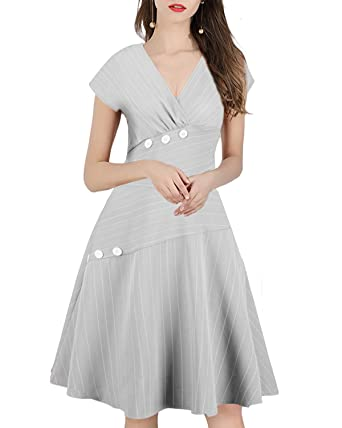 Pinup Elegant Formal Midi Dress