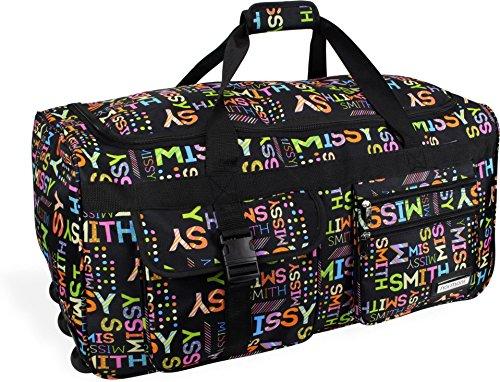 Reisetasche Jumbo Big-Travel mit Rollen riesige XXL V4 5. Generation NEU von normani® Farbe Missy