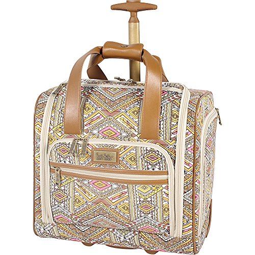 nicole-miller-ny-luggage-sedona-wheeled-under-seat-bag-yellow