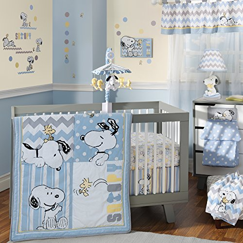 Lambs-Ivy-My-Little-Snoopy-4-Piece-Bedding-Set
