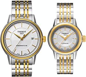 Tissot Dress Watch For Unisex Analog Stainless Steel -