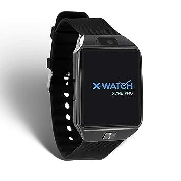 X-WATCH 54024 x30 W Smartwatch con Tarjeta SIM Negro: Amazon ...