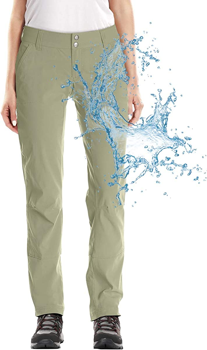 Women's Hiking Pants, Water Repellent Outdoor Pants, Lightweight Stretch Cargo/Straight Work Pants,Insulated Winter Pants for Women,6061,Khul,30