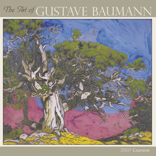 The Art of Gustave Baumann 2007 Mini Wall Calendar ()
