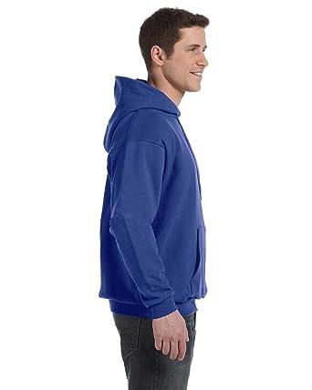 1 Denim Blue Hanes P170 Mens EcoSmart Hooded Sweatshirt 3XL 1 Black