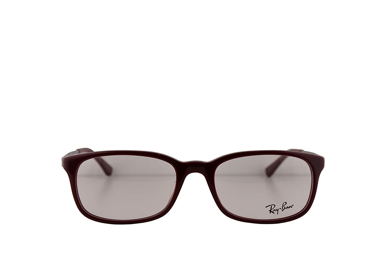 13825067a1b Amazon.com  Ray-Ban RX5313D Eyeglasses 54-19-145 Bordeaux w Demo Clear  Lenses 5250 RB 5313D RB5313D  Clothing