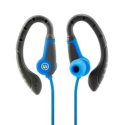 177b7de7d9f Amazon.com: Wicked Audio Fight Sweat Resistant Earbuds, Royal ...