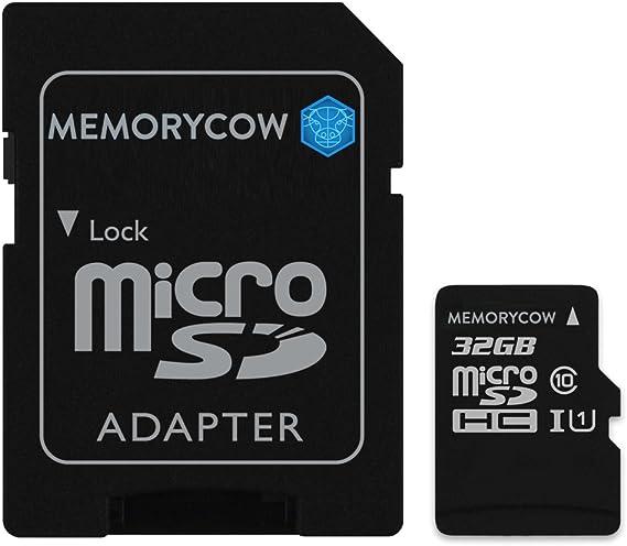 Kingston Tarjeta de Memoria microSD HC de 32GB para Motorola Moto E Dual SIM (2nd Gen)