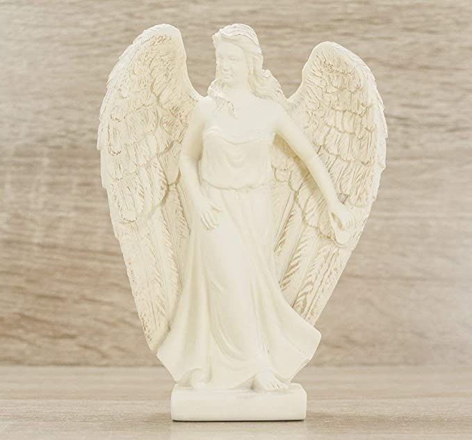 Gaias Treasures Archangel Jophiel Statue Female Figurine Angel of Artists 5 Inches Gift Boxed