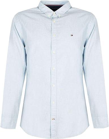 Tommy Hilfiger Heather Herringbone Shirt Camisa para Hombre ...