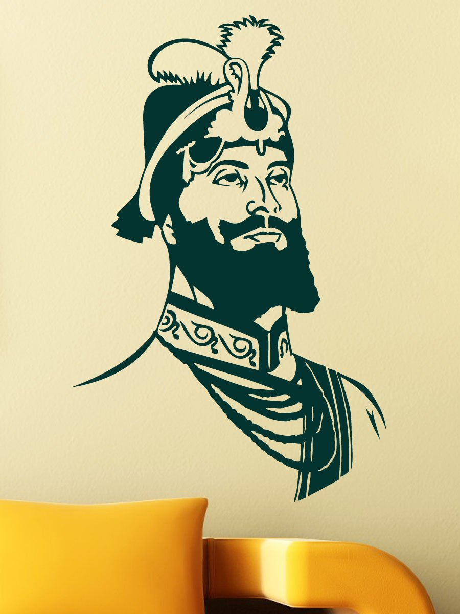 Buy WallMantra Sikh Wall Sticker Online at Low Prices in India ...