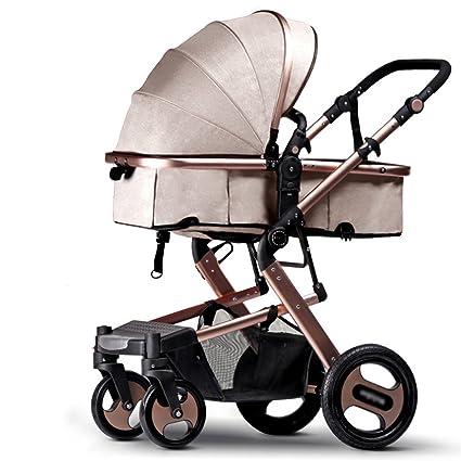 Carro de bebé Niño Baby Trolley luz Paraguas de Coches de Cuatro Ruedas de colisión de Plegado ...