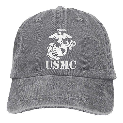Eagle Globe Anchor USMC Marine Corps Dad Hat Adjustable Denim Hat Classic Baseball Cap