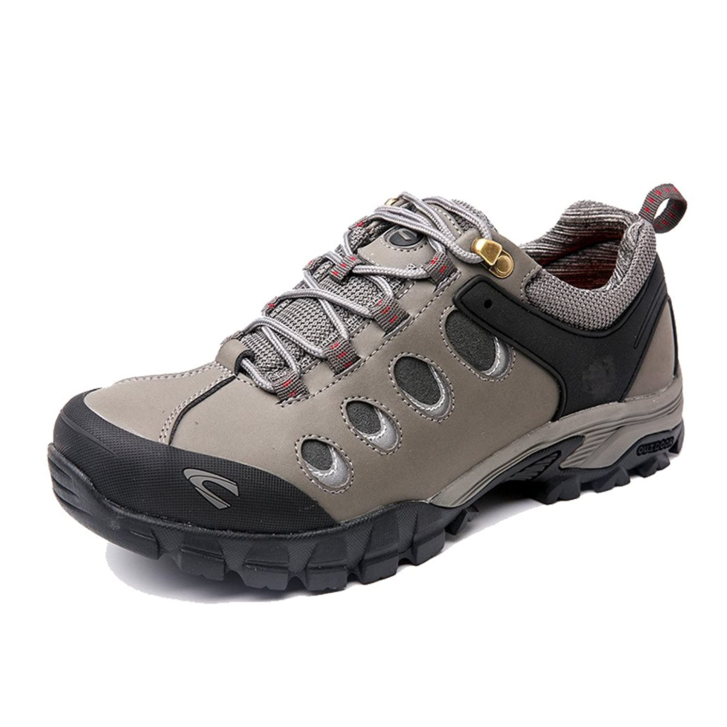 Men's Leather Hiker Hiking Shoe Outdoor Backpacking Shoe