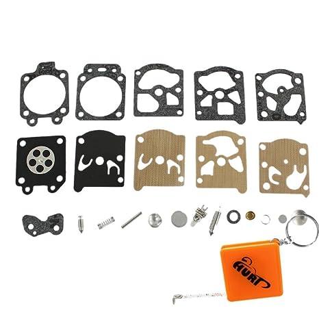 hurí de reparación Carburador Kit membrana Junta Apta para Partner 351 350 352 370 371 390