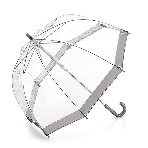 Fulton - Paraguas infantil, talla 68cm long - talla inglesa, color (Pink Trim): Amazon.es: Equipaje