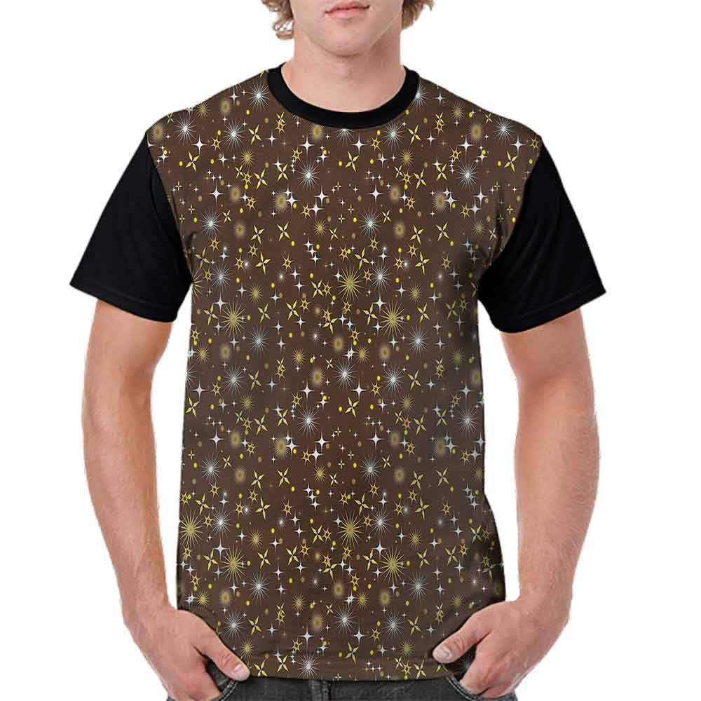 Loose T Shirt,Brace Astronaut Cosmos Fashion Personality Customization