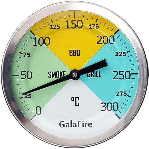 GALAFIRE 3 3/16 Pulgadas Cara Grande 300 ℃ Termómetros para ...