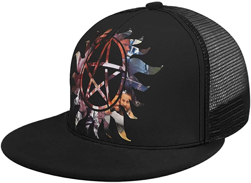 RQPPY The One Where I Drink The Coffee Design DrawstringMesh Snap Back Hat Fits Men Women Outdoor Sport Summer