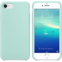 SURPHY Cover iPhone 8, Cover iPhone 7, Custodia iPhone 8 7 Silicone Slim Cover Antiurto con Morbida Microfibra Fodera, Ultra Sottile Cover Case per Apple iPhone 8 iPhone 7 4.7 Pollici