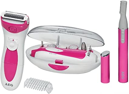 AEG Lbs 5676 Lady Beauty Set.: Amazon.es: Salud y cuidado personal