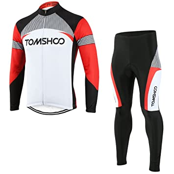 TOMSHOO Cycling Clothing Suit Spring Autumn Men Cycling Clothing Set  Sportswear Road Mountain Bicycle Bike Outdoor 830a4296a