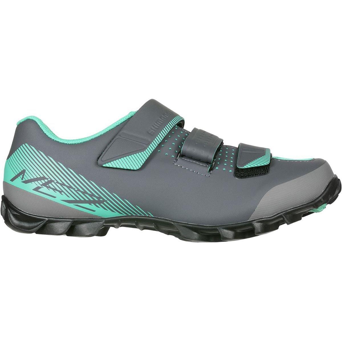 Shimano SH-ME2 Women's Mountain Enduro SPD Cycling Shoes - Black/Green - 39