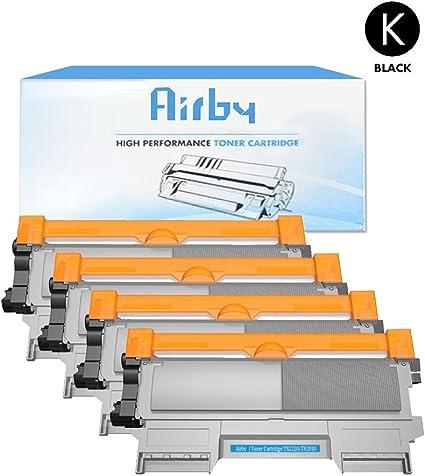 4X Airby Compatible Brother TN2220 Cartucho de Tóner per Brother ...