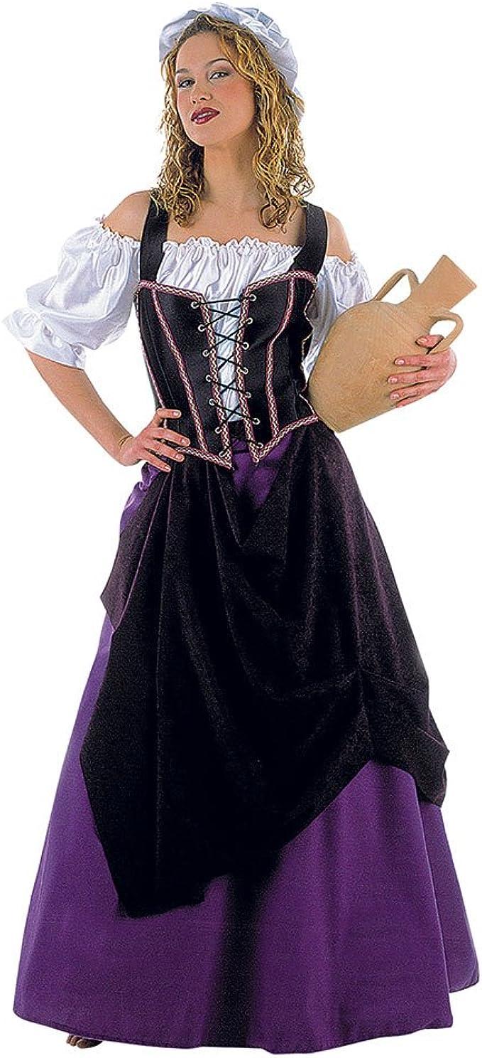 Vestido Medieval Brewmaiden Landlady Damas de Disfraces de 4 ...