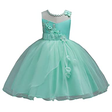 ffaf6ff9d474d 素敵なドレス 子供ドレス ピアノ発表会 プリント ドレス 女の子 二次会 花嫁 ジュニア 結婚式