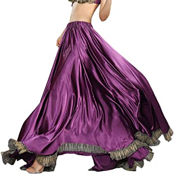ROYAL SMEELA Falda Flamenca Mujer Gitano 12 Yardas Faldas largas ...