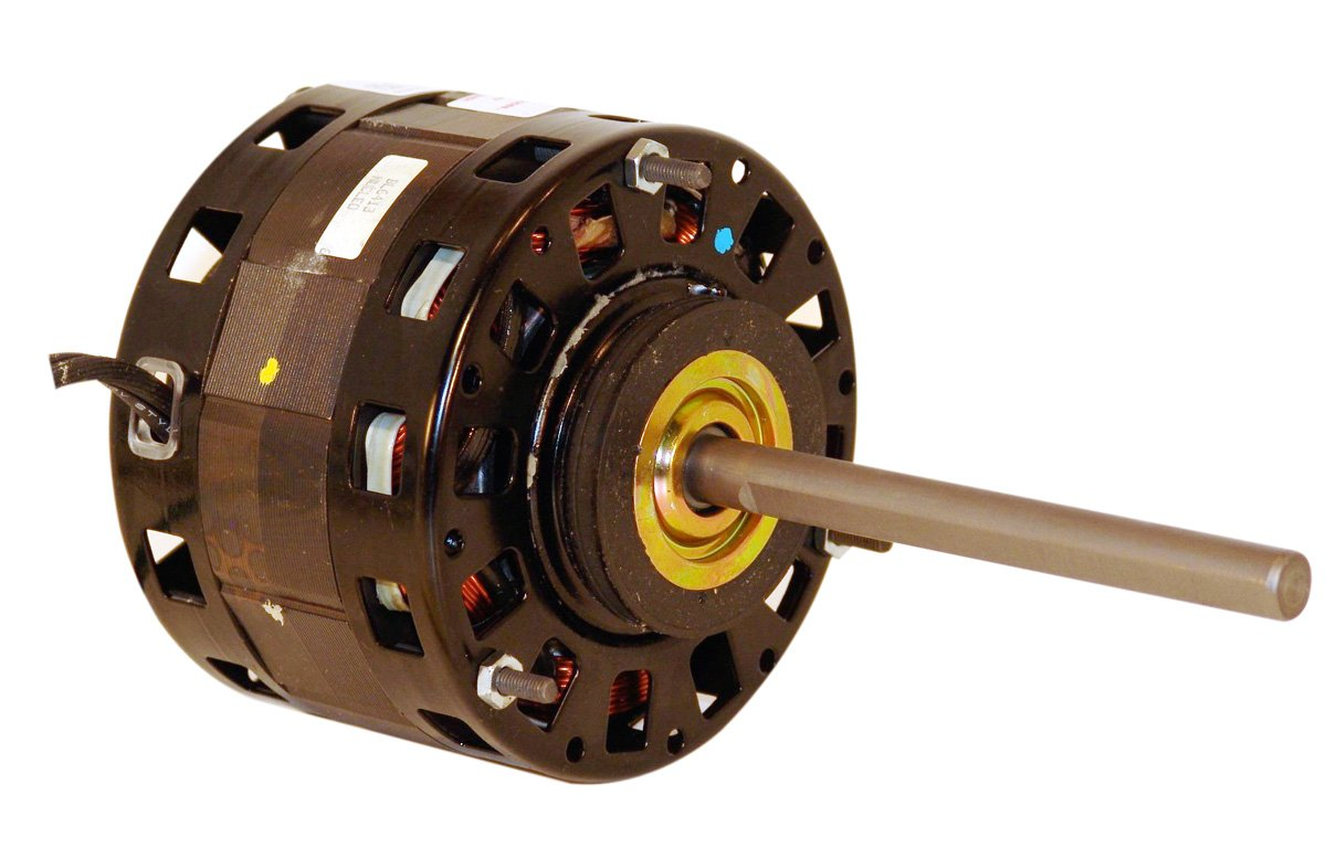 A.O. Smith B6507 5.0-Inch 1/5 HP, Open Enclosure, Reversible Rotation, 1/2 by 5 Shaft, Sleeve Bearing General Purpose PSC Motor by A. O. Smith  B007ATNT4I