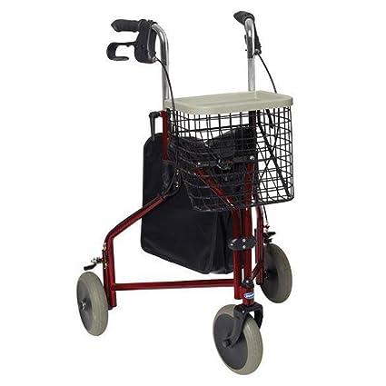 Andador adultos 3 ruedas Delta